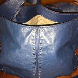 Michale kors leather chain link bag